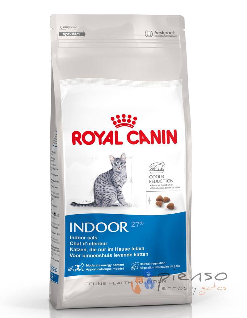 royal canin indoor 27 comida para gatos. Black Bedroom Furniture Sets. Home Design Ideas