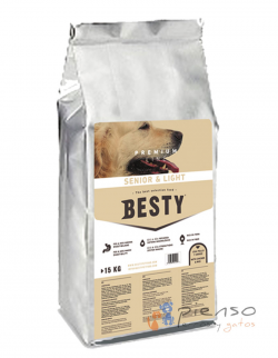 Pienso para perros Besty Senior & Light